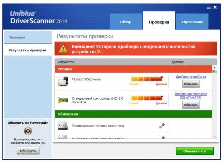 DriverScanner проверка