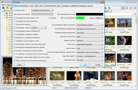 FastStone Image Viewer настройки