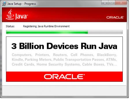 Java SE Runtime Environment