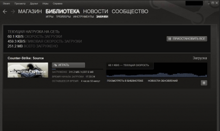 Steam загрузка